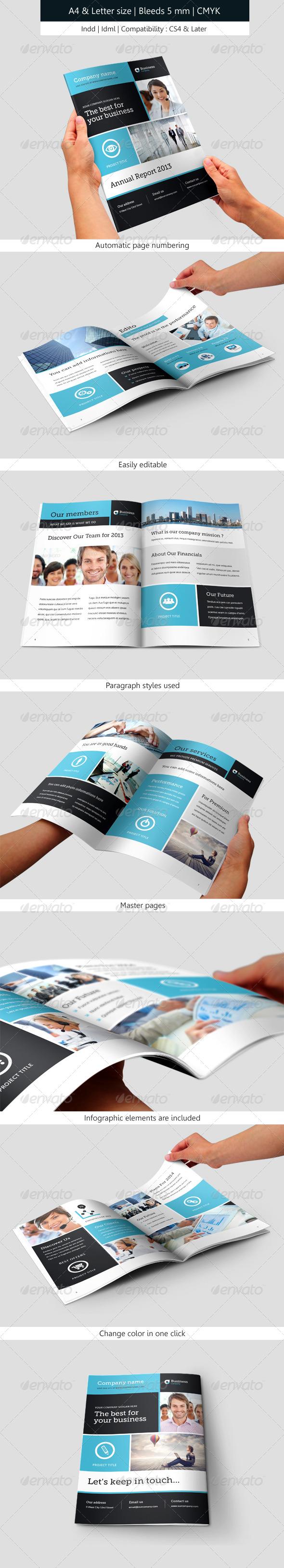 GraphicRiver Corporate Brochure Template Annual Report 6172683