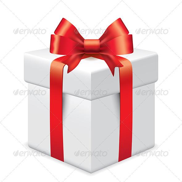 GraphicRiver Photo-Realistic Gift Box Vector Illustration 6172684