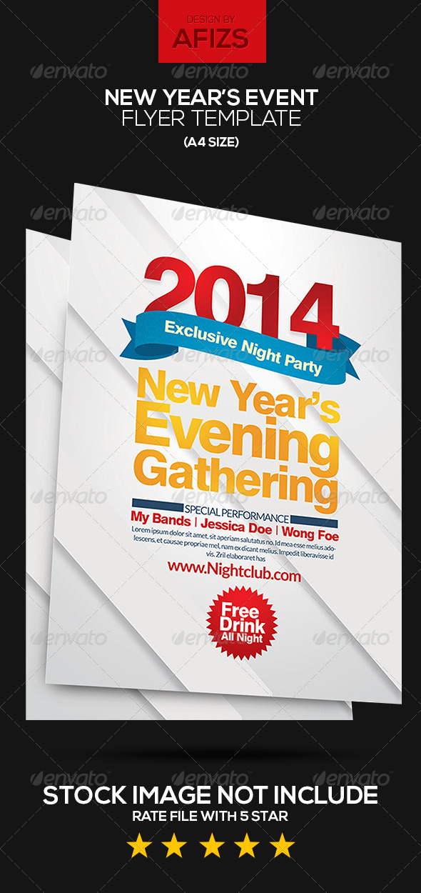 GraphicRiver New Year s Eve Flyer Template 6172762