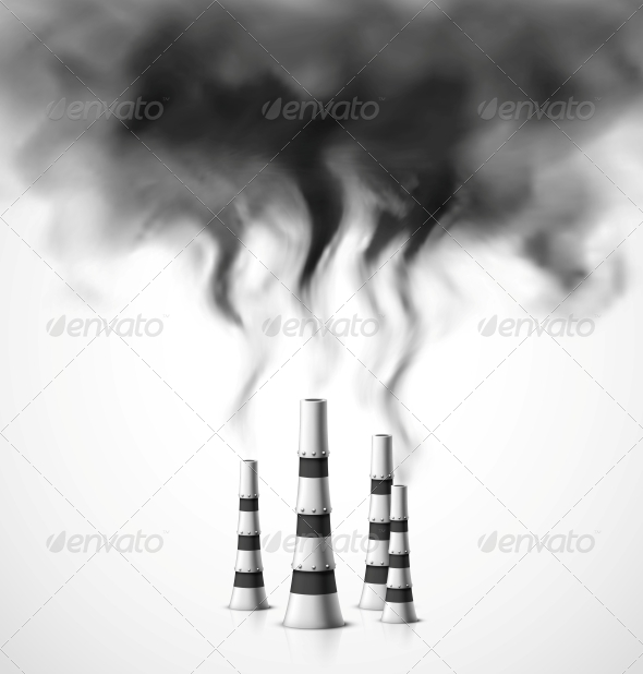 GraphicRiver Pollution of Environment 6173035