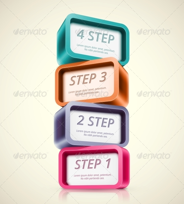 GraphicRiver Four Steps 6173036
