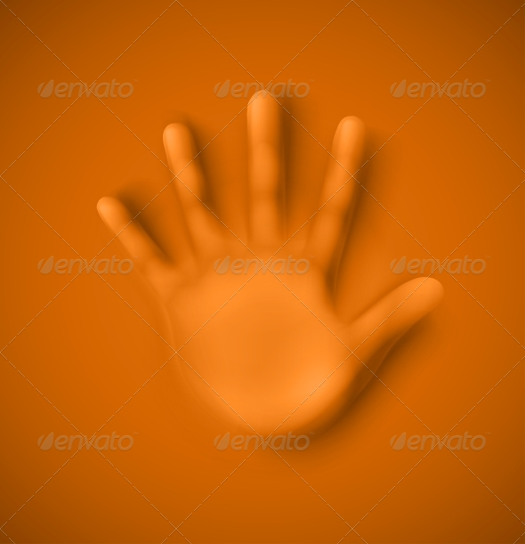 GraphicRiver Human Palm 6173037