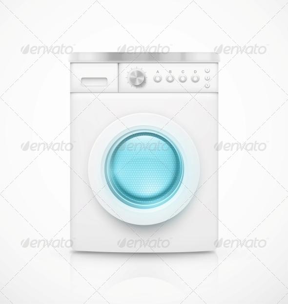 GraphicRiver Washing Machine 6173048