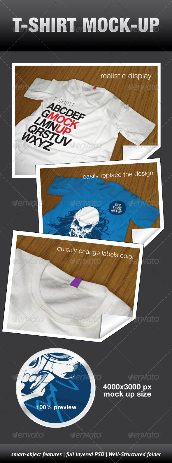 GraphicRiver T-Shirt Mock-Up 643512
