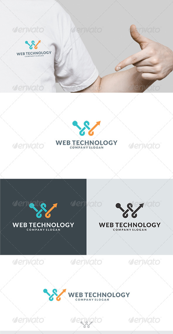GraphicRiver Web Technology Logo 6173083