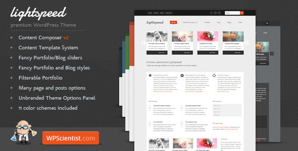 Lightspeed - Powerful WordPress Theme - ThemeForest