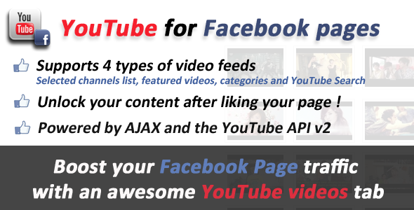CodeCanyon YouTube videos for Facebook Pages Tabs 643642