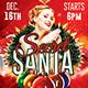 Secret Santa Xmas Flyer