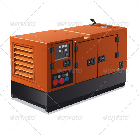 GraphicRiver Industrial Generator 6173366