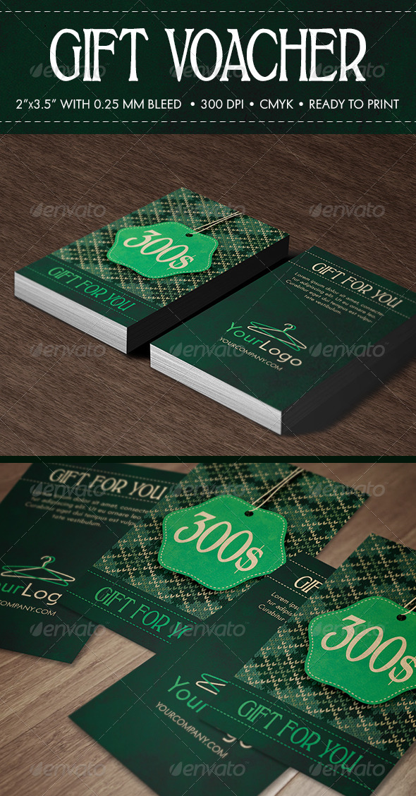 GraphicRiver Gift Voucher 6173445