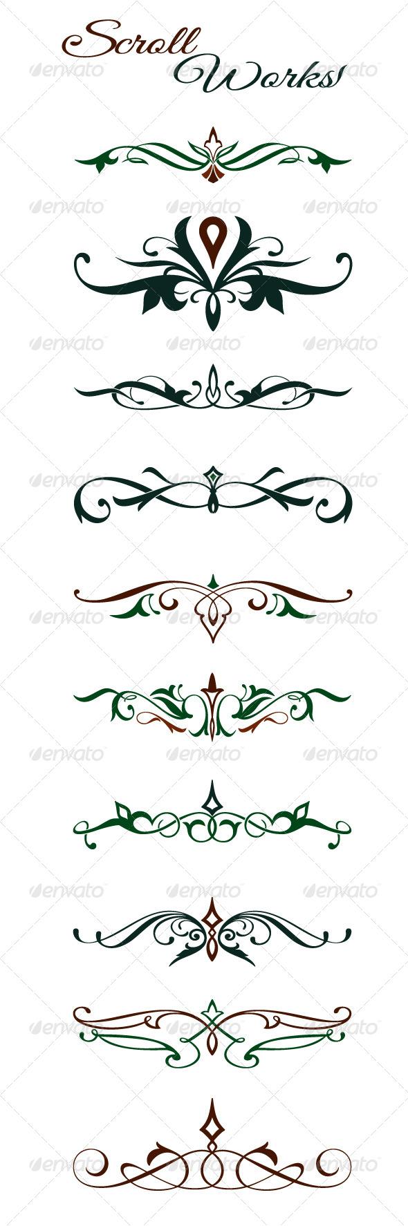 GraphicRiver Scroll Design Elements 6173685