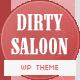 Dirty Saloon - A Rugged One Page Wordpress Theme