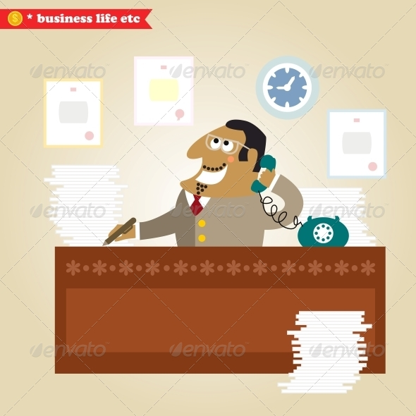 GraphicRiver Big Boss Good News 6174175
