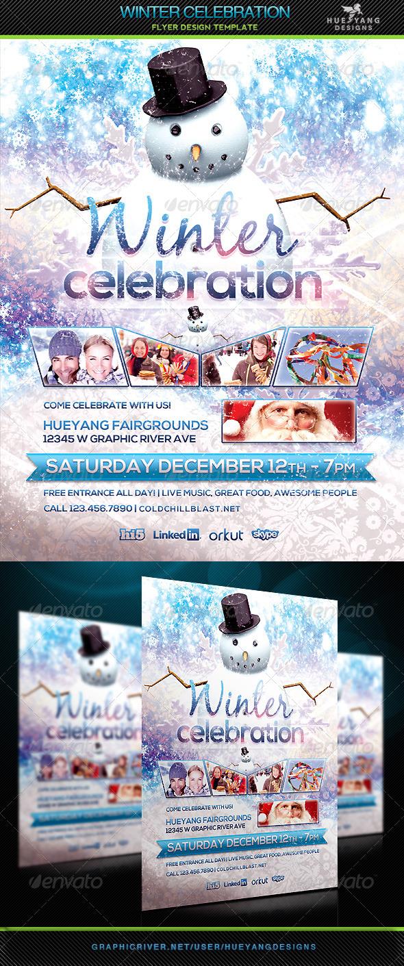 GraphicRiver Winter Celebration 6174290