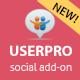 Κοινωνική Παράταση για UserPro - WorldWideScripts.net στοιχείο για την πώληση
