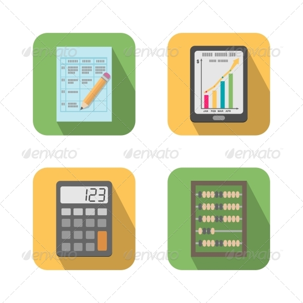 GraphicRiver Set of Financial Business Tools 6174336