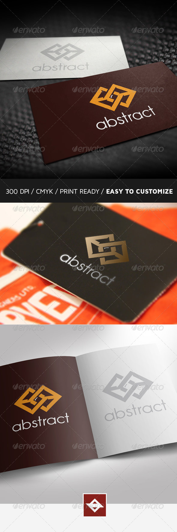 GraphicRiver Abstract Clean Logo 6170998