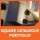 Square Catalogue Portfolio - GraphicRiver Item for Sale
