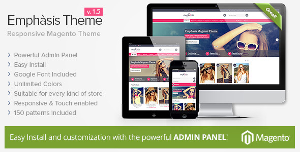 Emphasis - Multipurpose Responsive Magento Theme