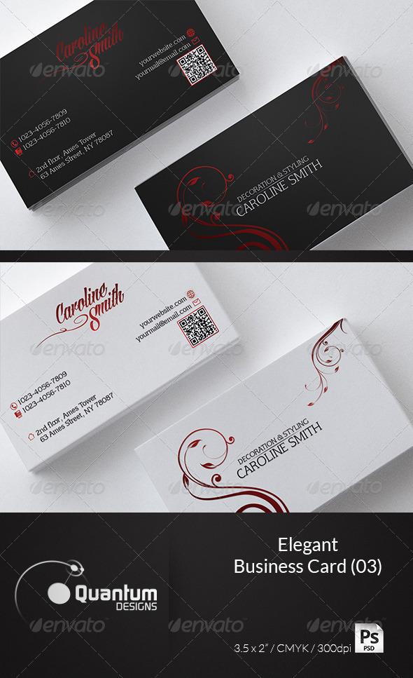 GraphicRiver Elegant Business Card 03 6123962