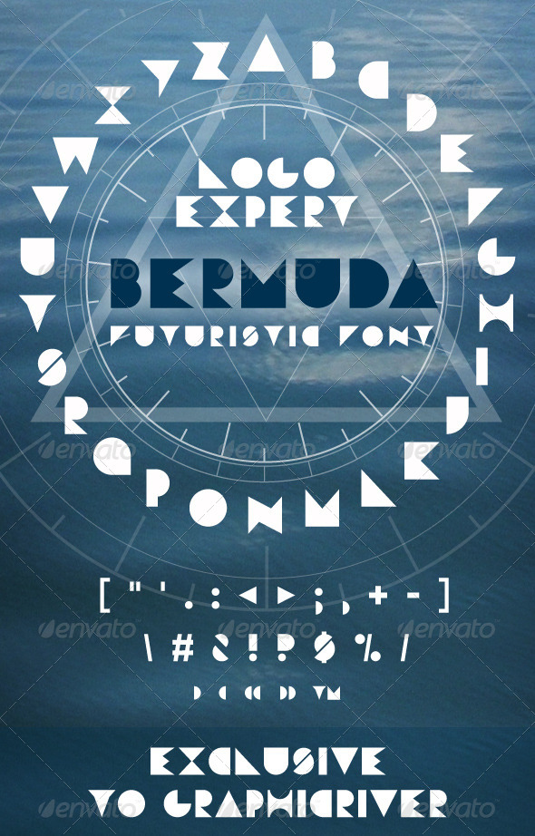 GraphicRiver Bermuda Font 6115451