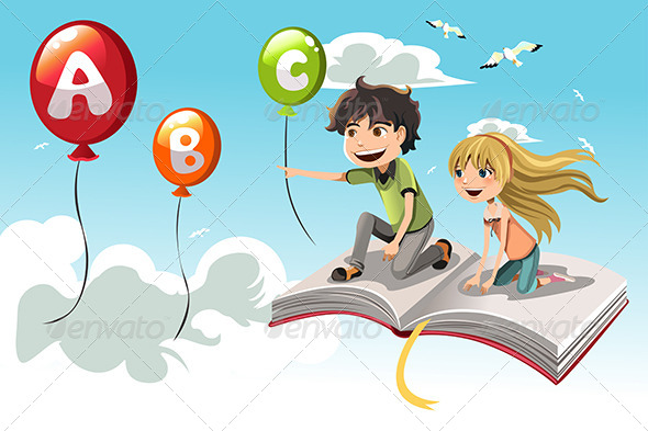 GraphicRiver Learning Kids 6175956