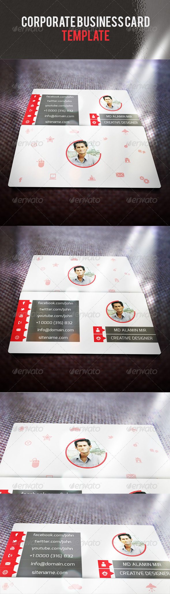 Corporate Business Card V 37