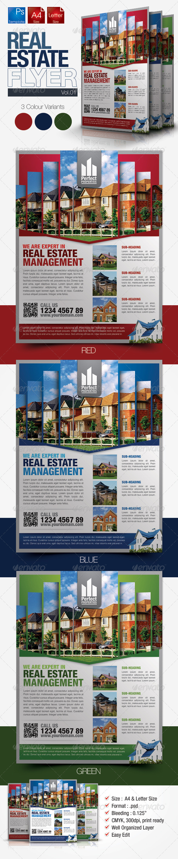 Simple Real Estate Flyer Vol.01 - Miscellaneous Events