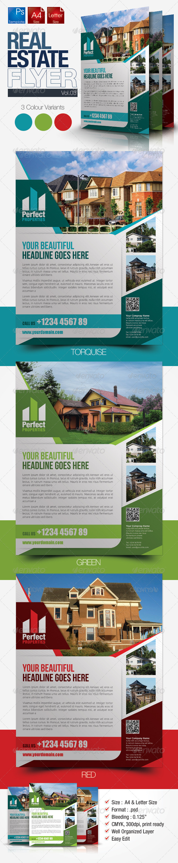Simple Real Estate Flyer Vol.03 - Miscellaneous Events
