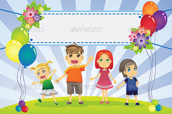 GraphicRiver Fun Family Banner 6176603