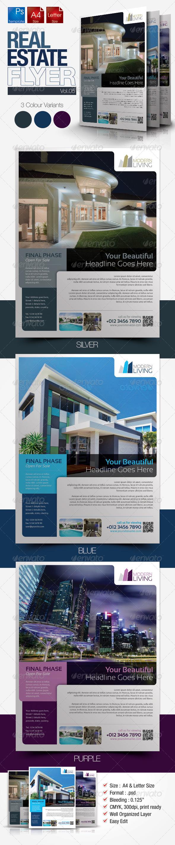 Simple Real Estate Flyer Vol.05