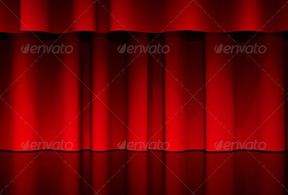 GraphicRiver Curtain Scene 6171566