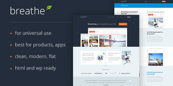 Breathe Product Template