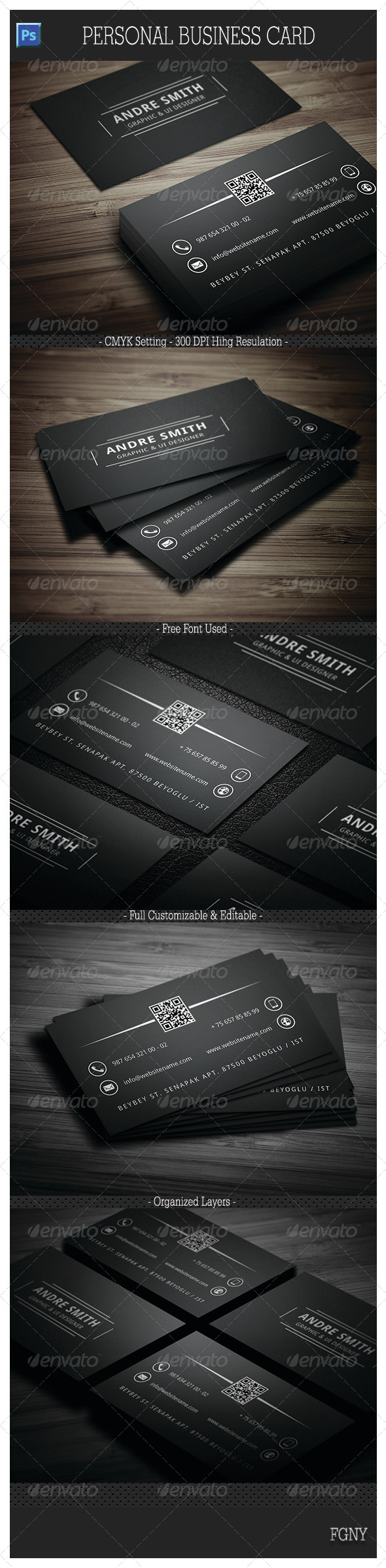 GraphicRiver Personal Business Card 6177188