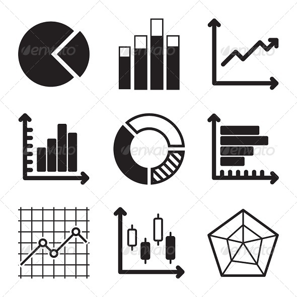 GraphicRiver Diagram Icons Set 6177427