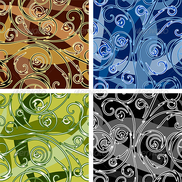 GraphicRiver Seamless Swirl Pattern 6177553