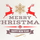 Set of Christmas Signs Emblems and Greetings - GraphicRiver Item for Sale
