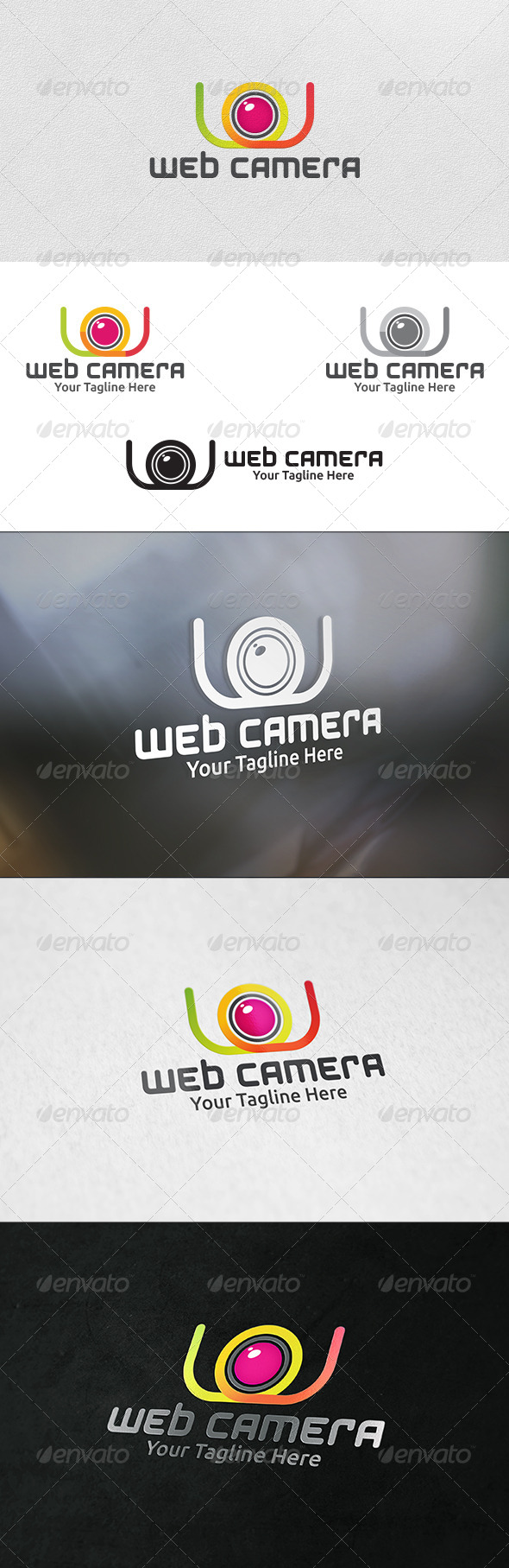 GraphicRiver Web Camera Logo Template 6177963
