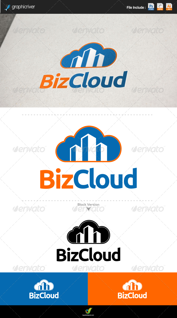 GraphicRiver Business Cloud 6177978
