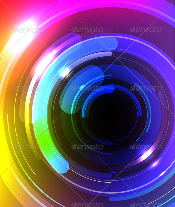 GraphicRiver Vector Multicolor Abstract Background 6178100