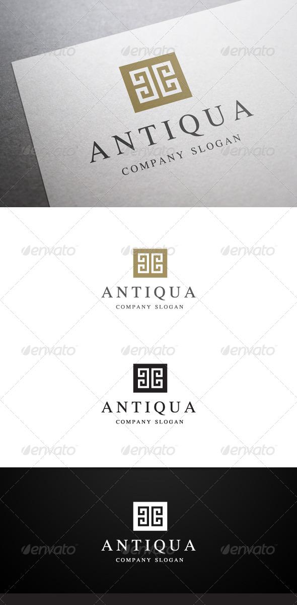 GraphicRiver Antiqua Logo 6179484