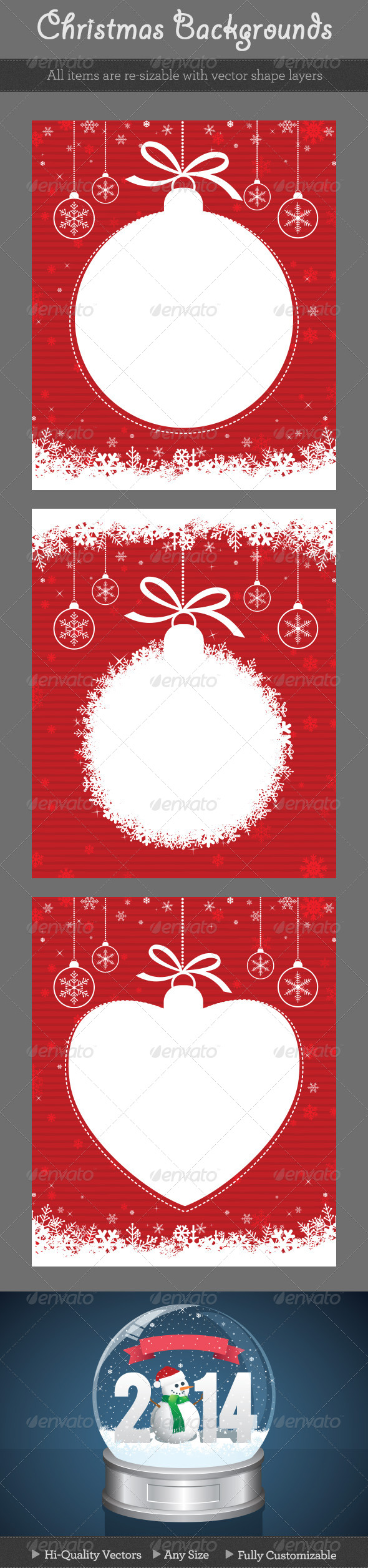 Red Christmas Backgrounds - Christmas Seasons/Holidays