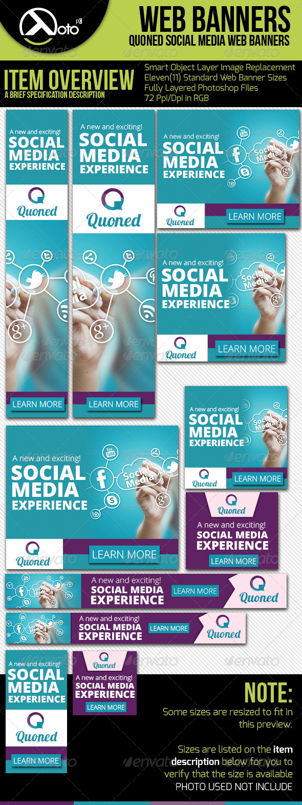 GraphicRiver Social Media Web Banners 6180295