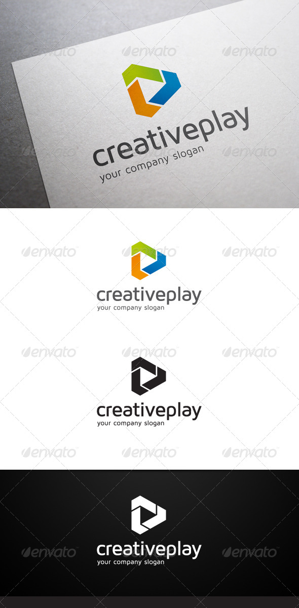 GraphicRiver Creative Play Logo 6180779