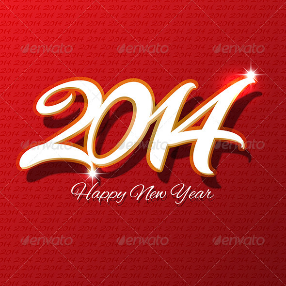 GraphicRiver Happy New Year Background 6180825