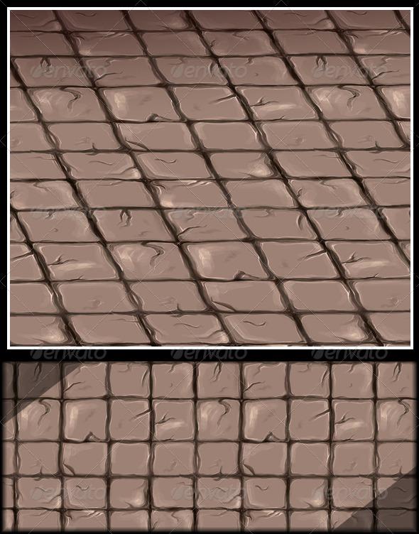 3DOcean Stone Floor Tile V2 6181435