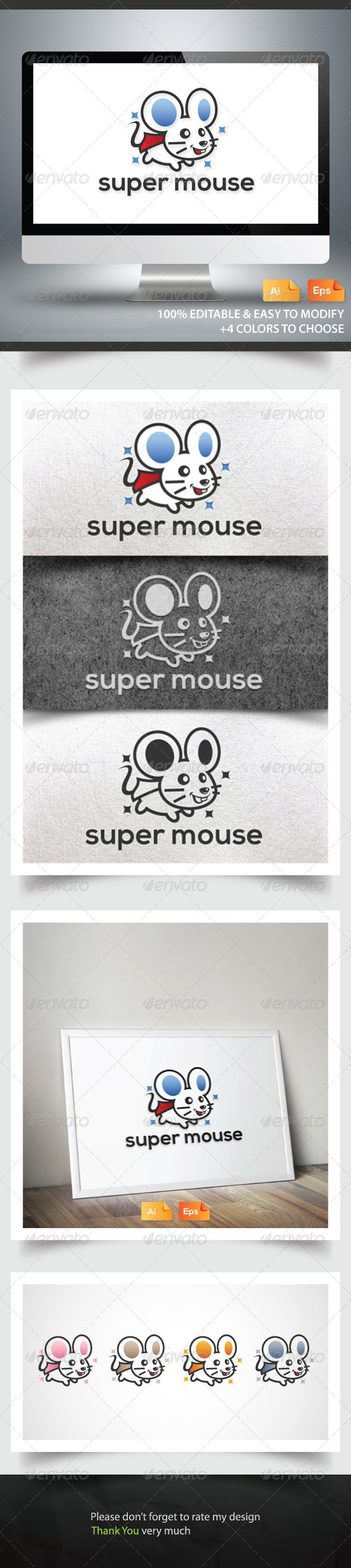 GraphicRiver Super Mouse 6181830