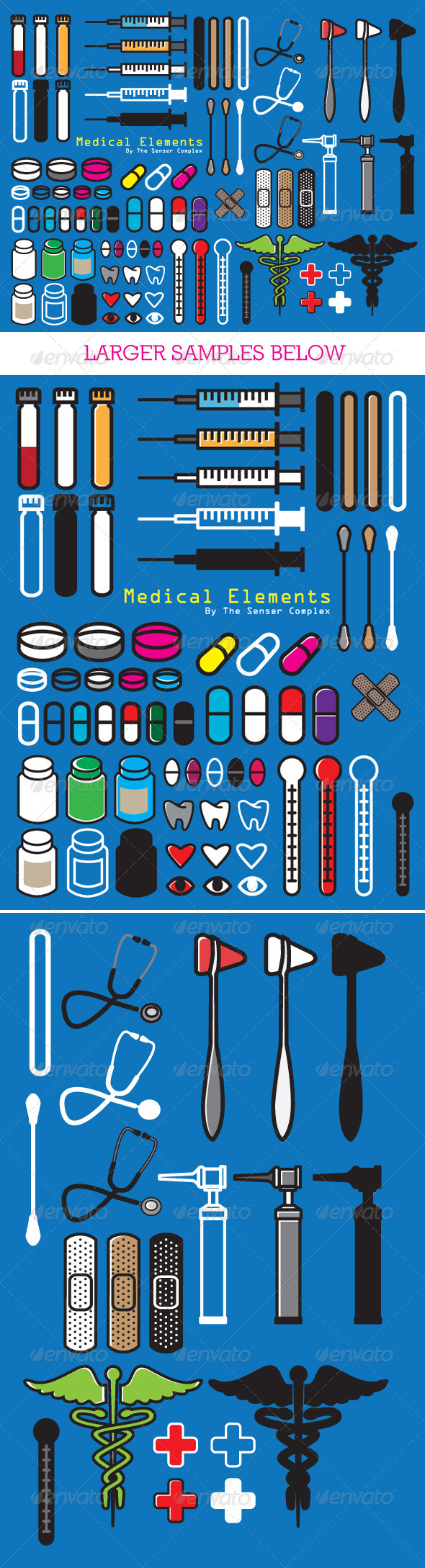GraphicRiver Medical Elements 6182130
