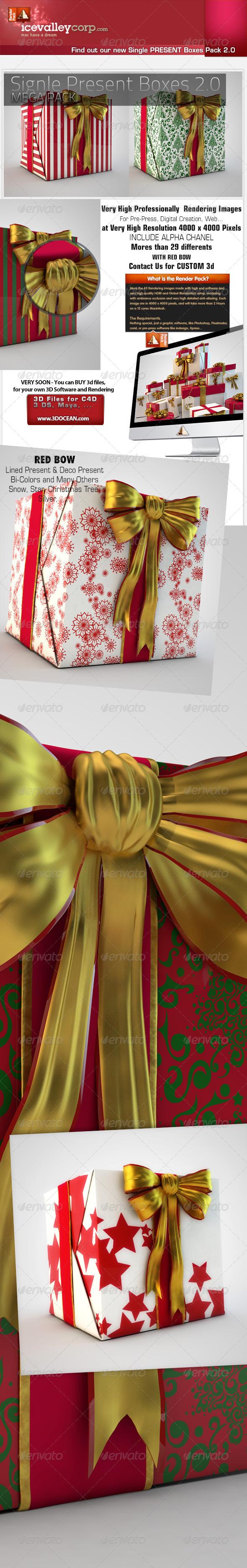 GraphicRiver 29 SinglePresent Gift Box HiRes christmas 6155440