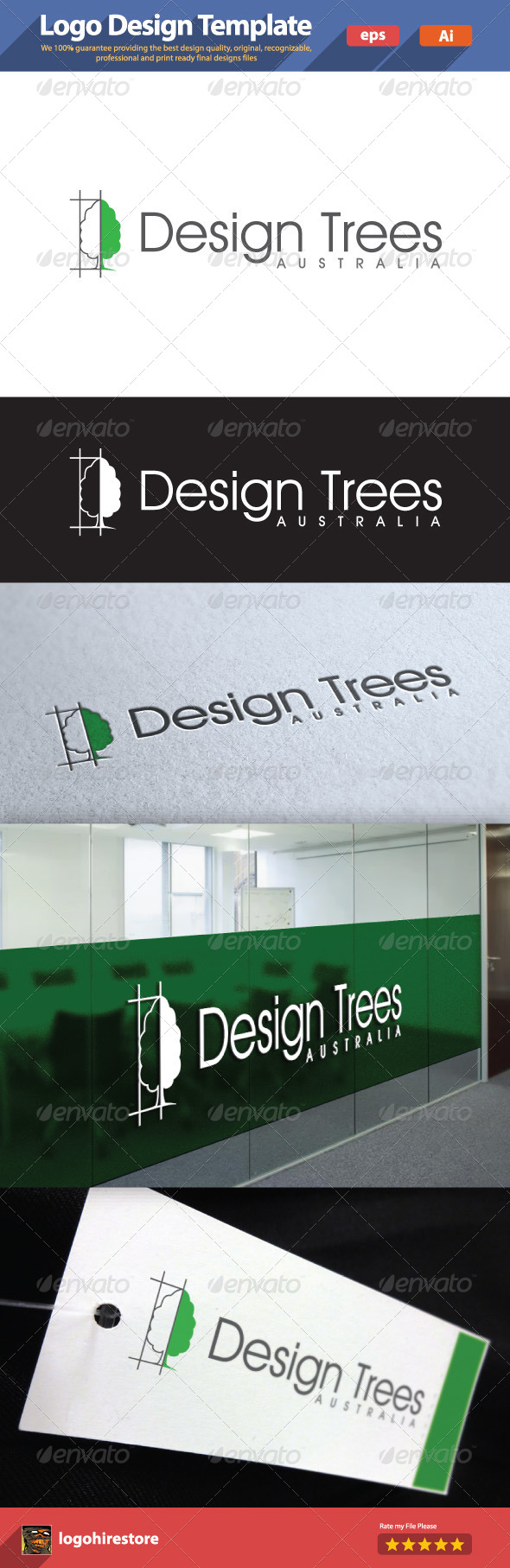 GraphicRiver Design Trees 6182155